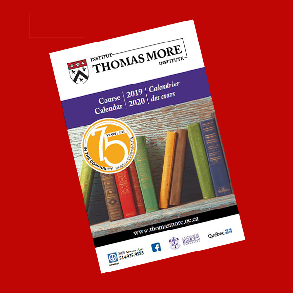 Thomas More Institute course list